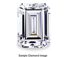 0.75 Carat Emerald Cut Diamond  This M color, VVS2 clarity, and Ideal make (cut) certified loose diamond comes with a report from the GIA.  Price: $1,120.00