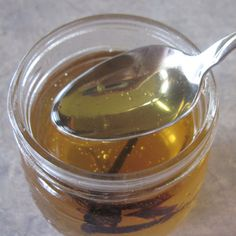 Vanilla Infused Honey @ Common Sense Homesteading