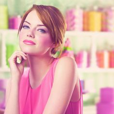 emma stone pretty in pink