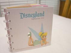 DIY Disney autograph/mini scrapbook! I am so making one of these!