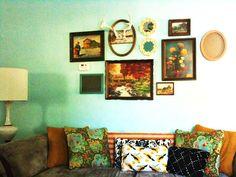 Love this wall decor