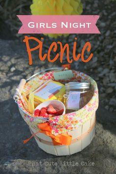 ladies picnic, night parti, night picnic, parti time, picnic baskets