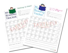 Tartufo Brothers: Free Summer Reading Charts for Boys & Girls