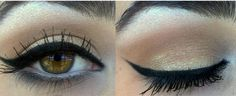 Beautiful pin up make up tutorial by an italian girl on Youtube