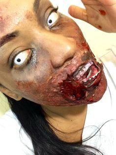The Walking Dead Makeup Tutorial