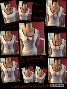 Top Notch Necklace the best thing on the market. 25 ways to use this one. premier design, design piec, 20142015 collect, premier collect, design jewelri, premier jewelri, jewelri fun, top notch, design 20142015