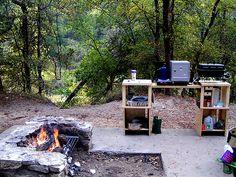 Camp kitchen http://americancowboy.com