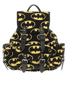 Lazy Oaf | Lazy Oaf Batman Backpack at ASOS