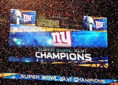 New York Giants - Super Bowl XLVI Champions!