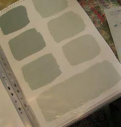 mixing Annie Sloane paints