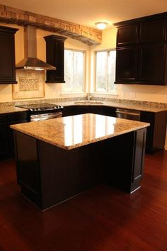What a great kitchen from Lombardo Homes!