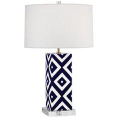 Robert Abbey Mary McDonald Santorini Squares Buffet Lamp