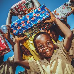 Give the gift of Christmas to children in developing countries all over the world with Operation Christmas Child.