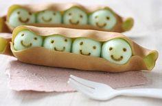 peas please, #cute, #food