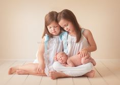 Perfect sibling pose