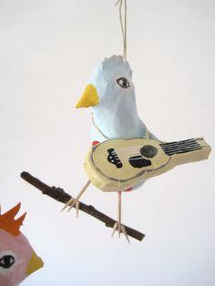 Mobile Birdland by jikits