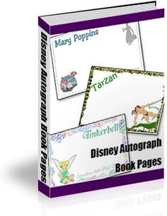 Disney Autograph Books Are More Magical When You Create Your Own