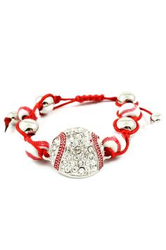 Play Ball Crystal Bracelet | Awesome Selection of Chic Fashion Jewelry | Emma Stine Limited