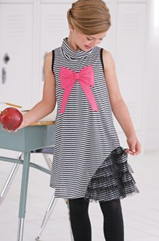 Little Pink Bow Dress 2T to 14 Years Now in Stock