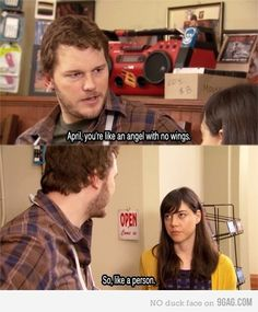 Parks and Recreation love.