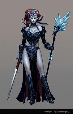 Gothic Witch by Scebiqu on deviantART