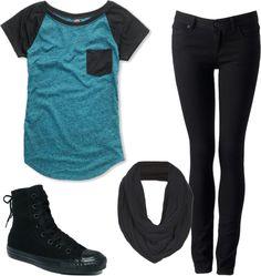 sleev shirt, blue tail, cap sleev, petra heather, polyvore