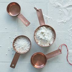 Copper Measuring Cups #westelm