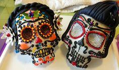 TPiB: Sugar Skulls for Dia de los Muertos (not as hard as it looks) - TLT: Teen Librarians Toolbox