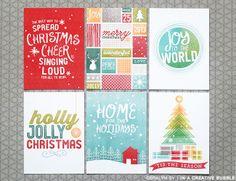 *NEW* Holly Jolly Filler Cards (Digital)