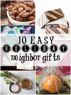 10 Easy and Inexpensive Holiday Gift Ideas for Neighbors, Co-Workers, and Friends | Remodelaholic.com #happyholidays #neighborgifts