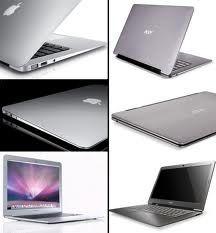 """Computadores portátiles ultra delgados APPLE """"ultrabooks""""/Ultra-thin laptops APPLE """"ultrabooks"""""""