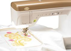 The brand new Unity sewing and embroidery machine!