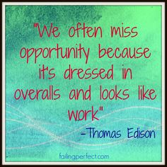 Wednesday's Wise Words to Live By: Thomas Edison
