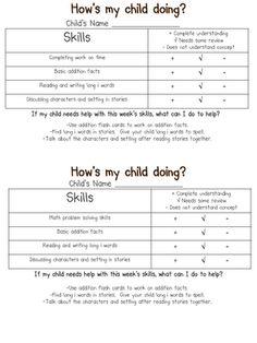 keeping parents informed