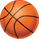 "BASKETBALL 10"" DECORATION $.83 each"