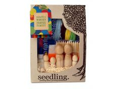 Kids craft kits by Seedling. I want them all!