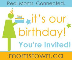 Six reasons to attend a momstown birthday bash this summer!