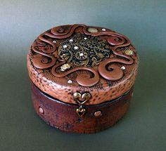 Polymer Clay Box by MandarinMoon, via Flickr