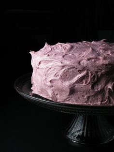 // blackberry buttercream