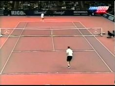 Andre Agassi Vs. Roger Federer 1998