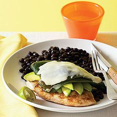 Southwest Grilled Chicken and Avacado Melts