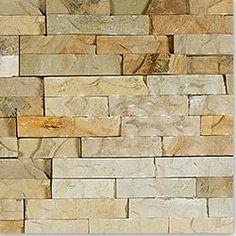 BuildDirect: Natural Stone Siding Veneer - Fossil Rustic / Type: Ledge Stone 6