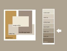 "Good site for choosing paint colors. Benjamin Moore ""Stone Hearth"""