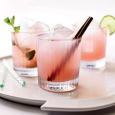 """Usually our motto is """"Rosé all day,"""" but this weekend we'll be fixing up a few of these cocktails made to complement dishes off the grill: https://www.onekingslane.com/live-love-home/memorial-day-ideas/"""