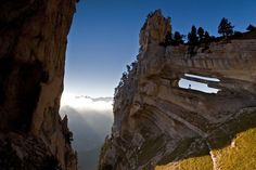 Chartreuse Arch in the Chartreuse Mountains, Rhône-Alpes,France