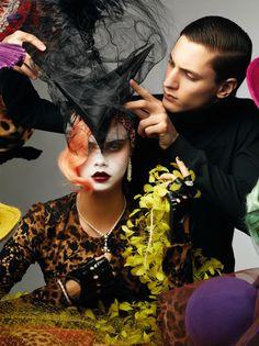 Cara for Vogue Gioiello