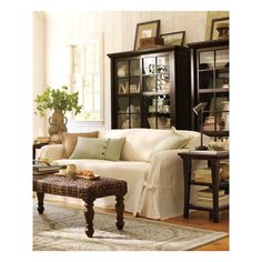 living room. book cases.