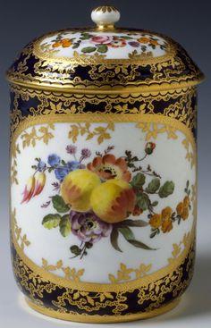 Tobacco Jar Jean-Baptiste Nouahlier (France, active 1753-1765) Sèvres Porcelain Manufactory (France, Sèvres, founded 1756-present) France, 1764