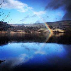 #Rainbow over #LochTummel