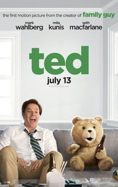 film, funny movies, funni movi, teddy bears, ted 2012, movi review, funniest movi